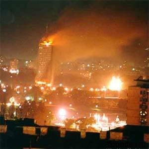 2 1 В Москве, Луганске и Белграде состоялись акции по поводу годовщины агрессии НАТО